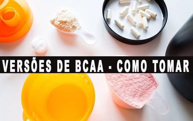 BCAA em pó capsulas ou liquido como tomar