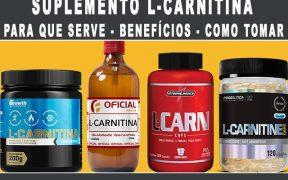 L Carnitina para que serve como tomar emagrece