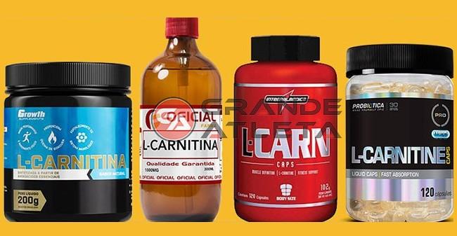 l-carnitina faz perder peso