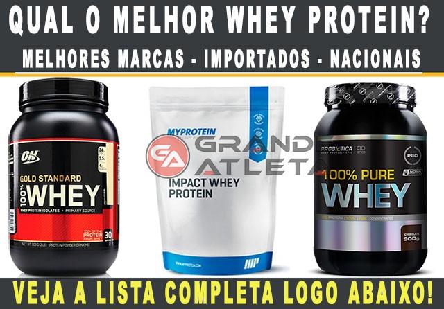 7f24ac4cd Melhor Whey Protein - As 7 Melhores Marcas (Lista 2019)