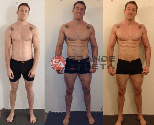 antes e depois do uso stanozolol