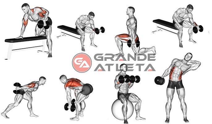 exercícios em casa - treino completo
