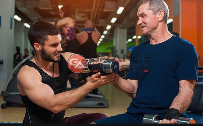 musculação idosos terceira idade