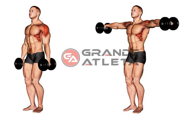 elevação lateral para ombros