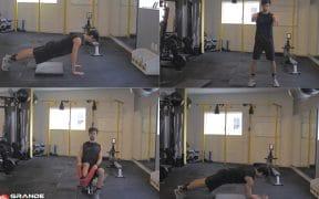 exercícios circuito em casa treino