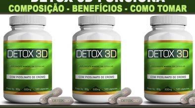 detox 3d rastrear pedido