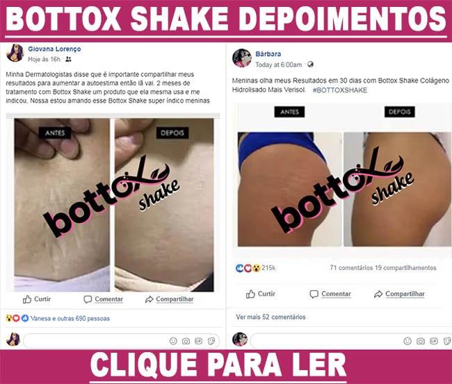 bottox shake depoimentos é bom