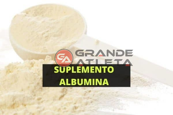 suplemento albumina ganhar peso musculo