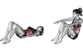 abdominal remador
