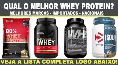 melhor whey protein melhores marcas