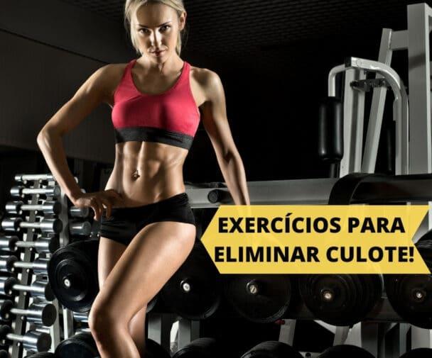 exercícios para perder culote