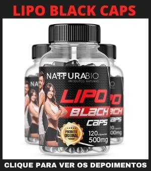 Lipo Black Caps Original